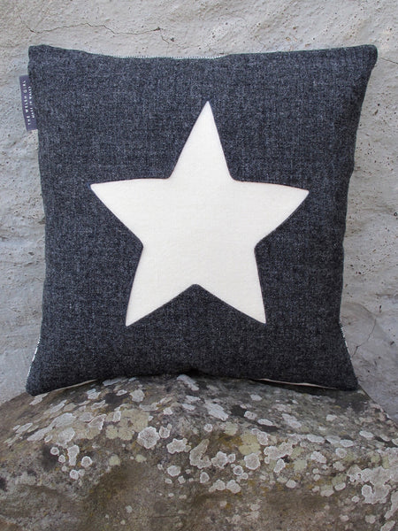 Patchwork Star Cushion