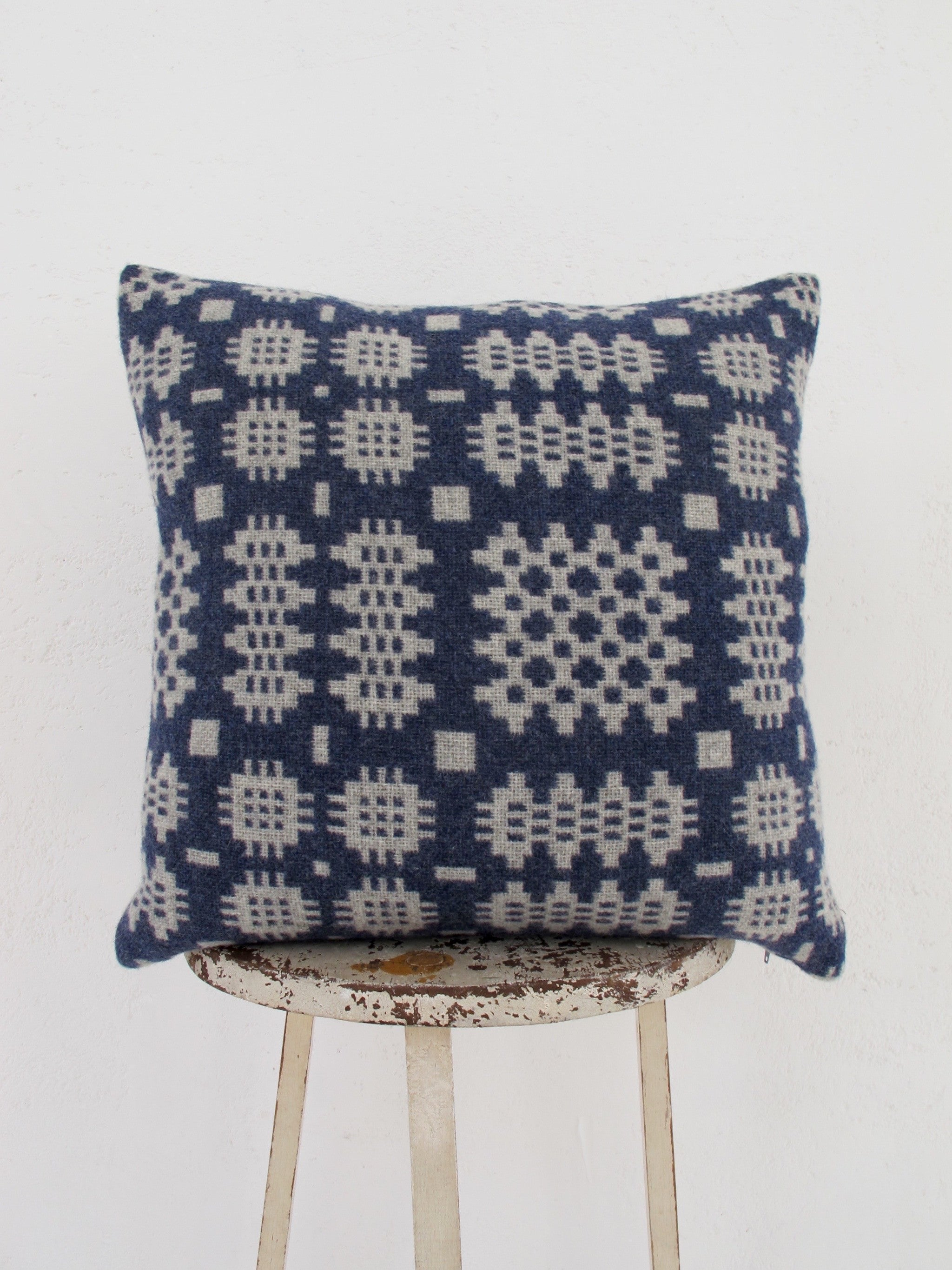Gwladys Grey Tapestry Cushion - 18""