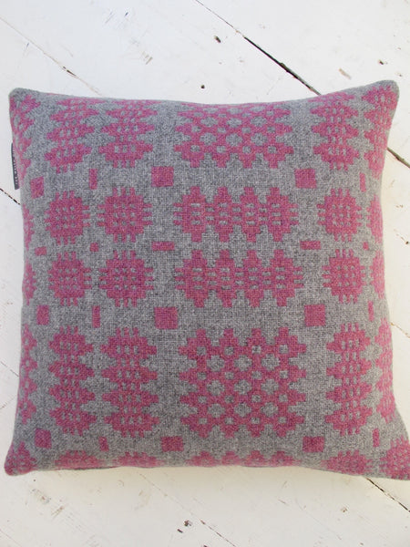 Mid Berry Tapestry Cushion - 18""