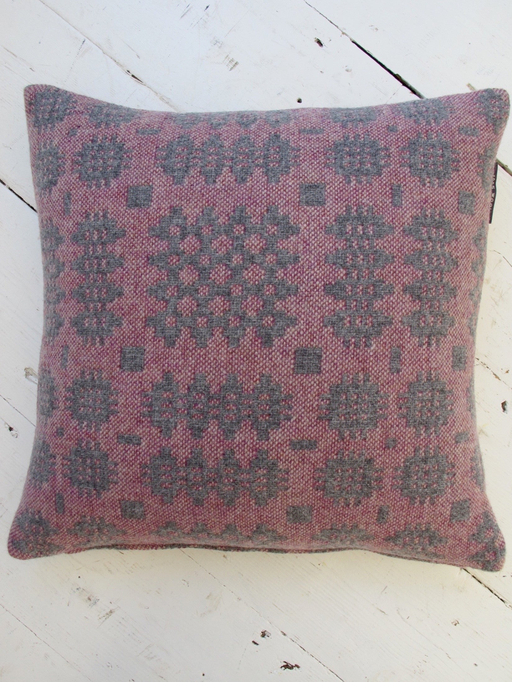 Vintage Berry Tapestry Cushion - 18""