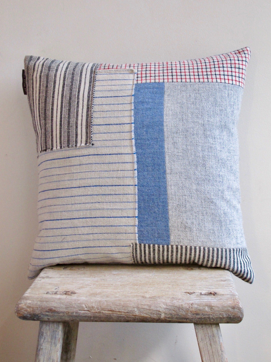 Patchwork Cushion XV