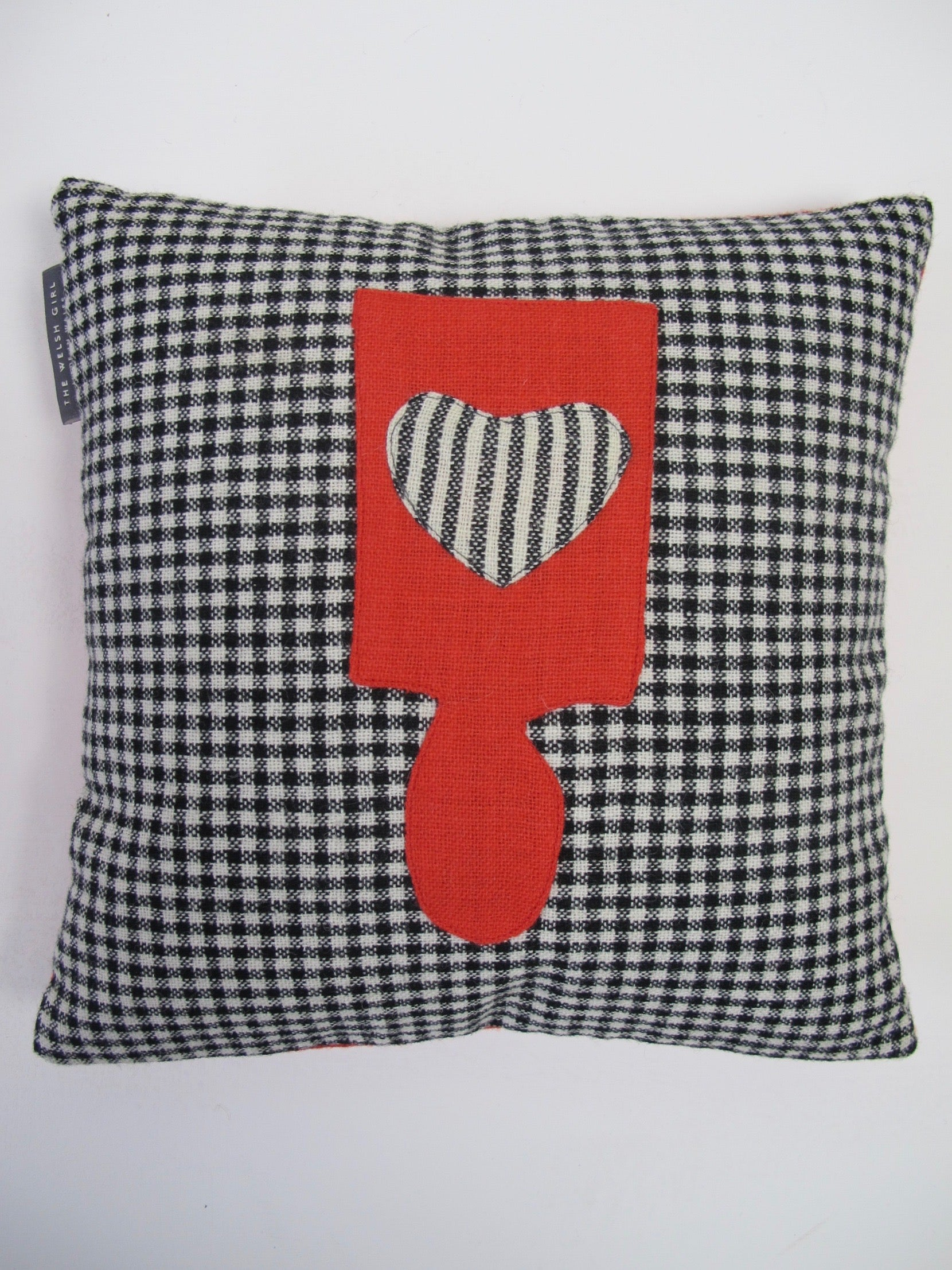 Patchwork Lovespoon Cushions