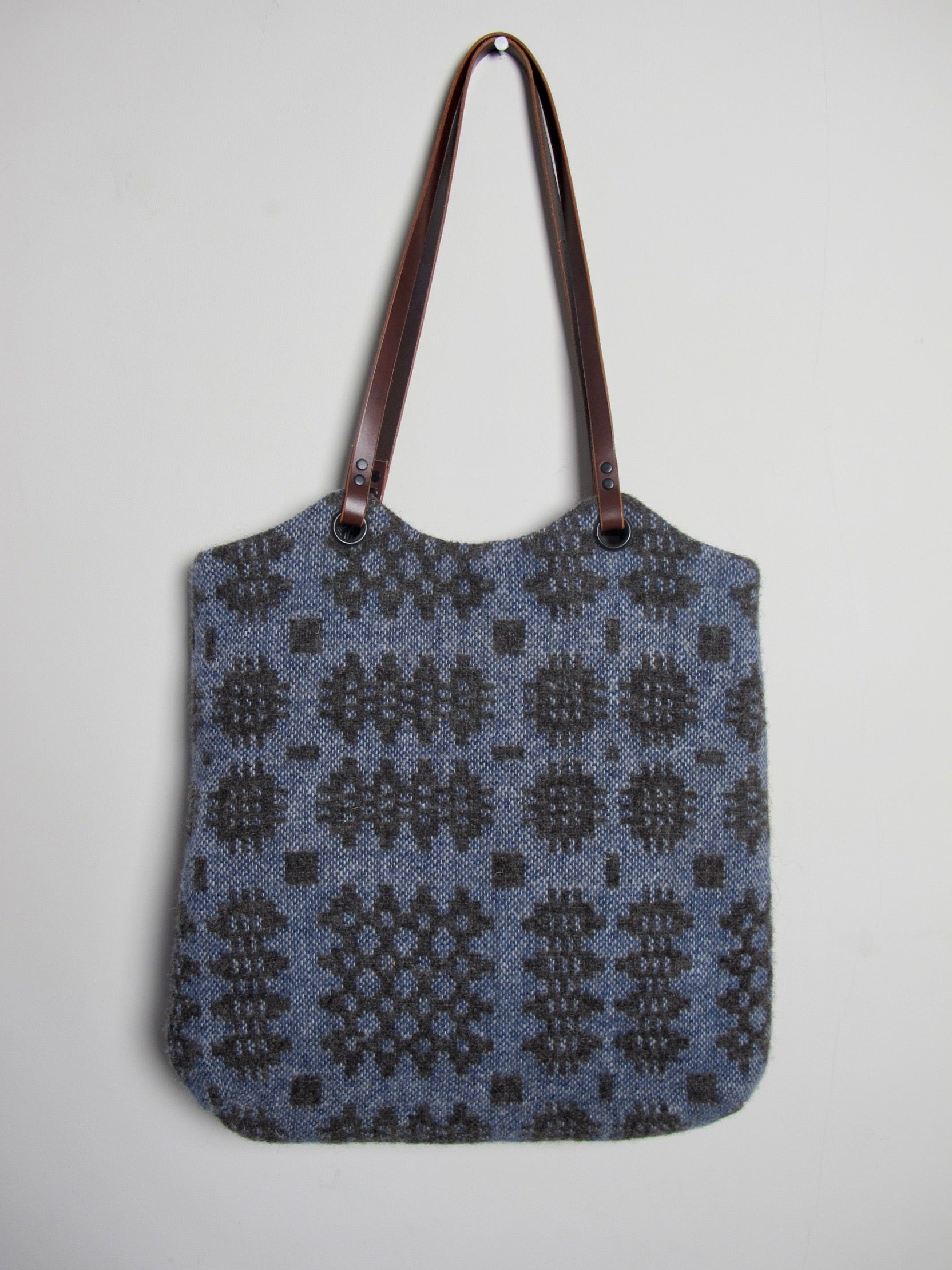 Tapestry Tote - Lottie Blue II