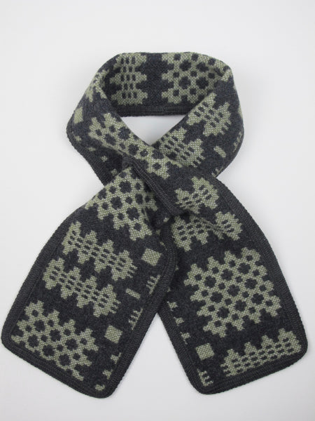 Graphite & Olive Green Coler Cwtch