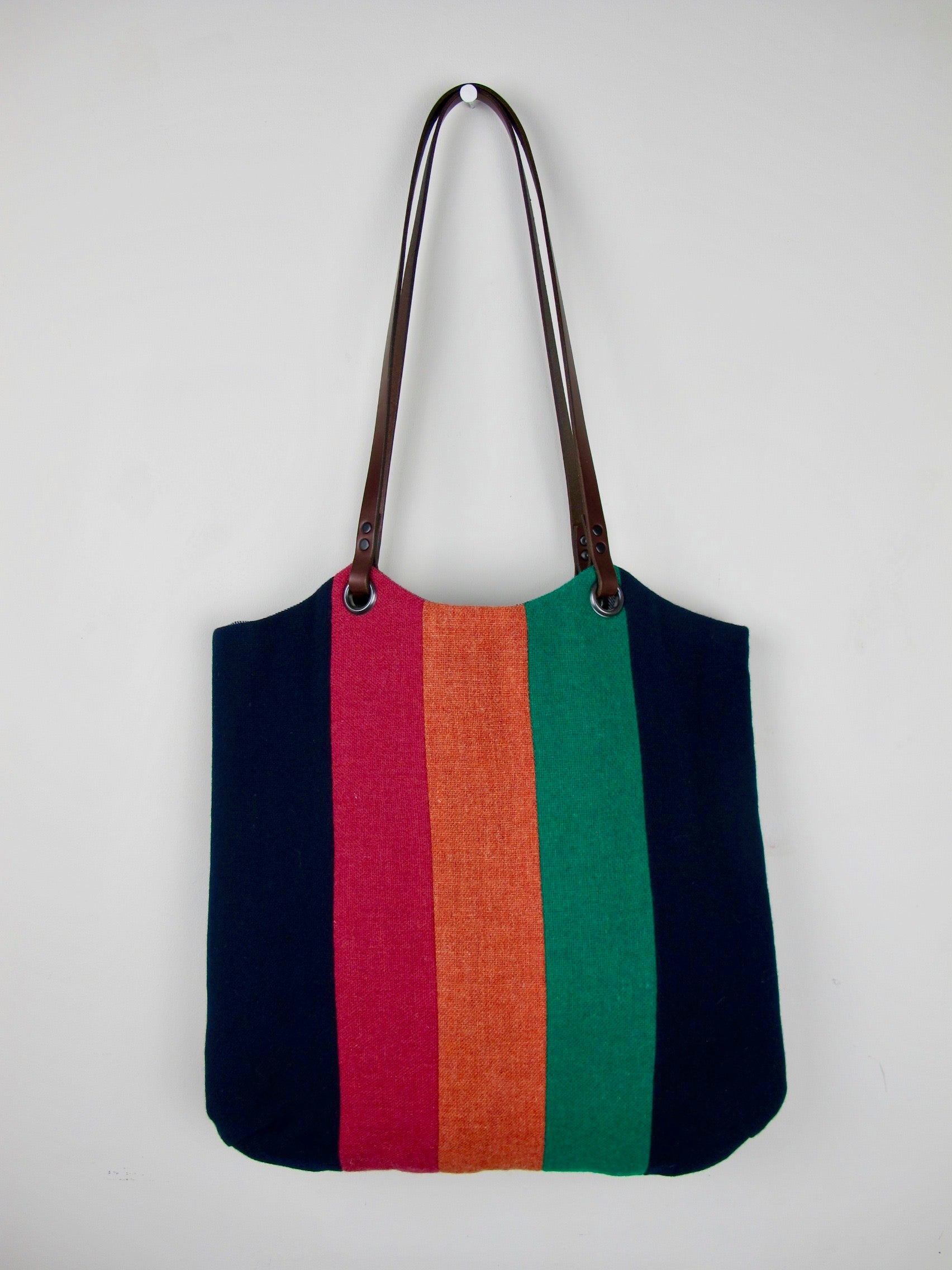 Patchwork Tote Bag - old school navy IV