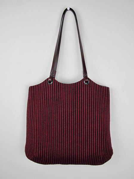 Tote Bag - red & black heritage I
