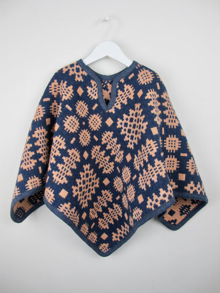 Vintage Clementine - Child Poncho