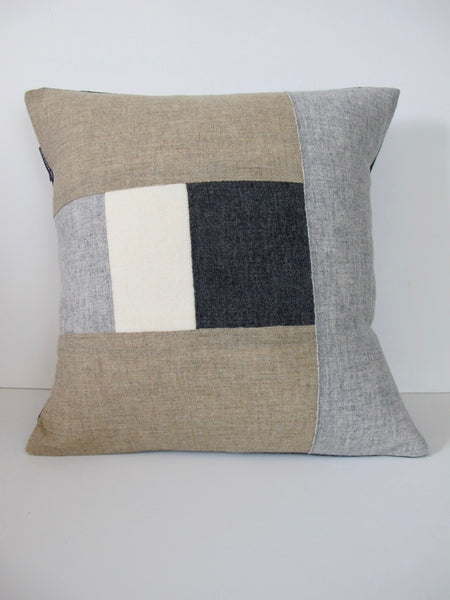 Patchwork Cushion XLVI