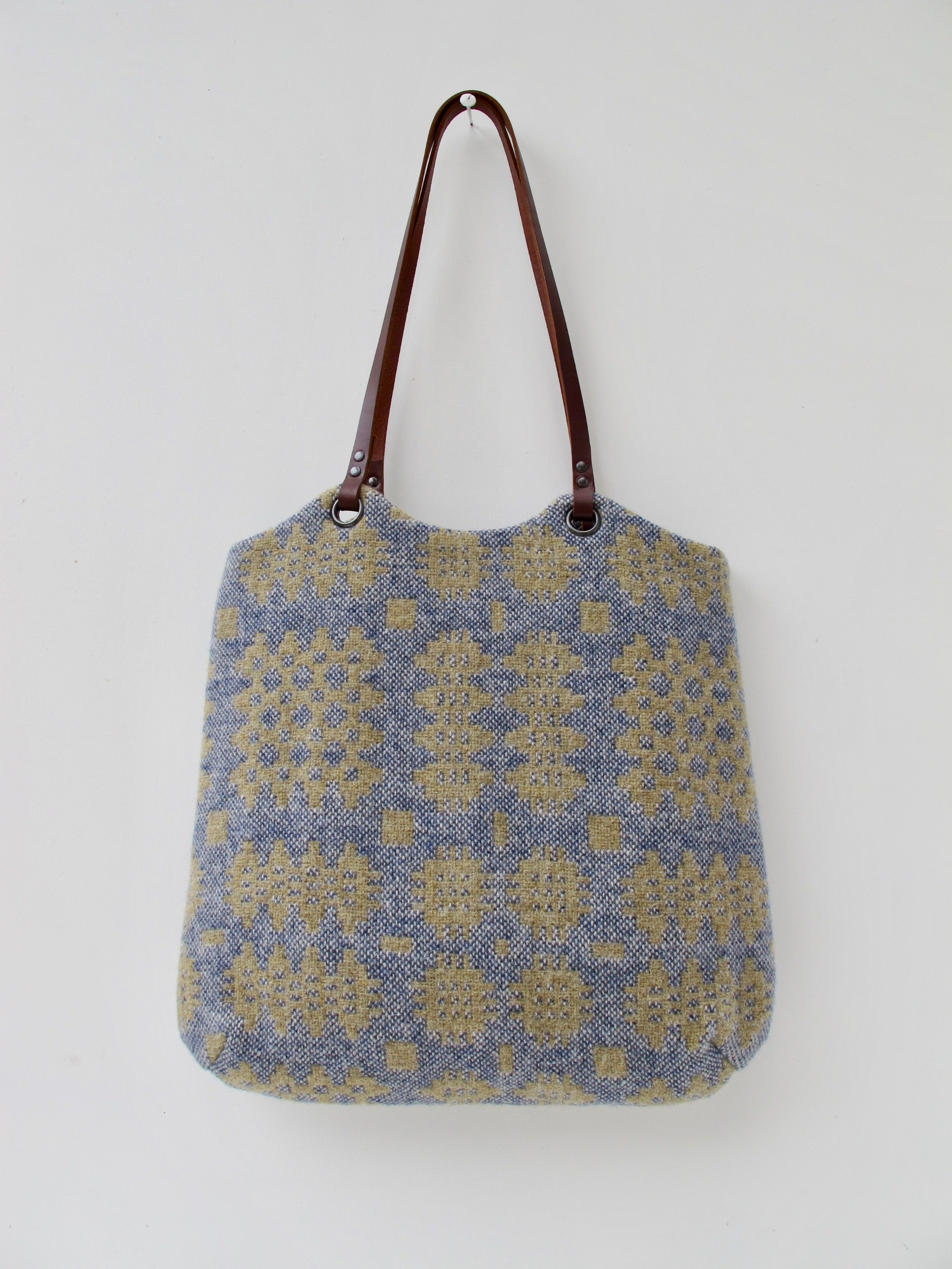 NEW Tapestry Tote - Sand & Denim II
