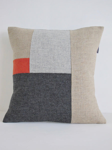 Patchwork Cushion L