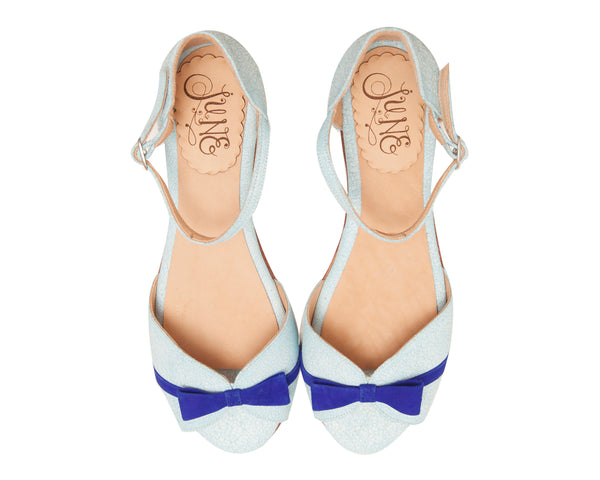 Charo Light Blue Flat [option1] [option2] quierojune