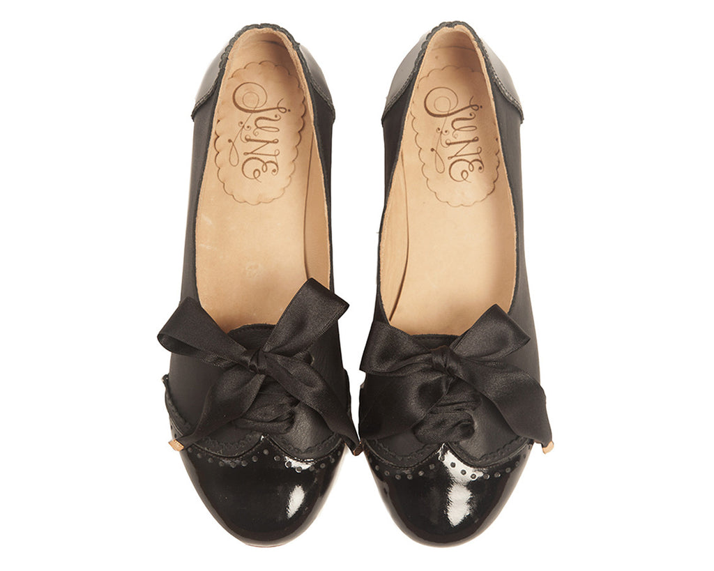 Acordonados Black Flats > Oxfords 35 Black quierojune