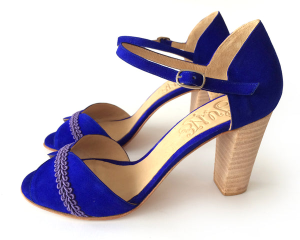 Charo Blue Heels [option1] [option2] quierojune