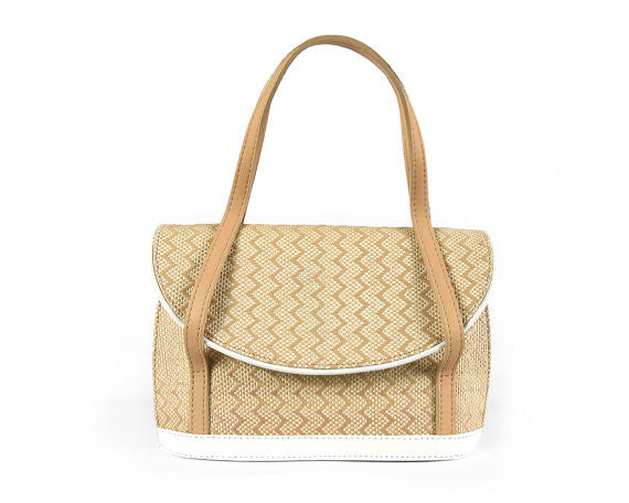 Adele Snow Handbags White [option2] quierojune