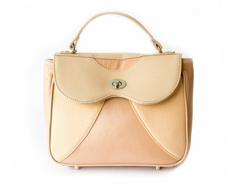 Onita Nude Handbags Cream [option2] quierojune