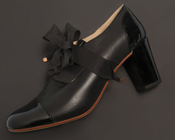 Oxford Black Heels [option1] [option2] quierojune
