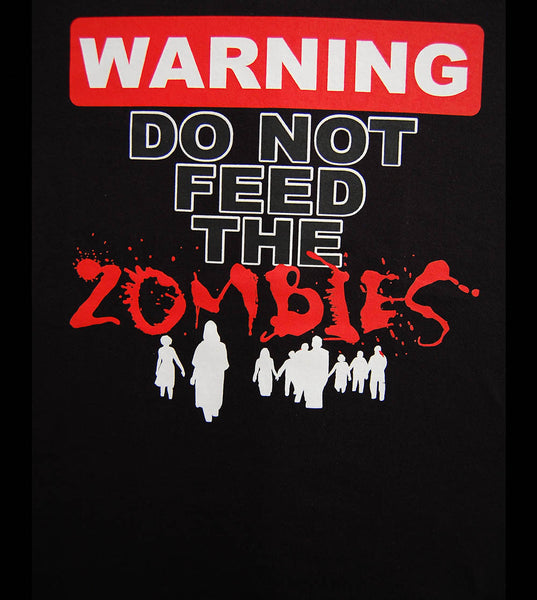 Zombie - Warning (women) - gunnytees