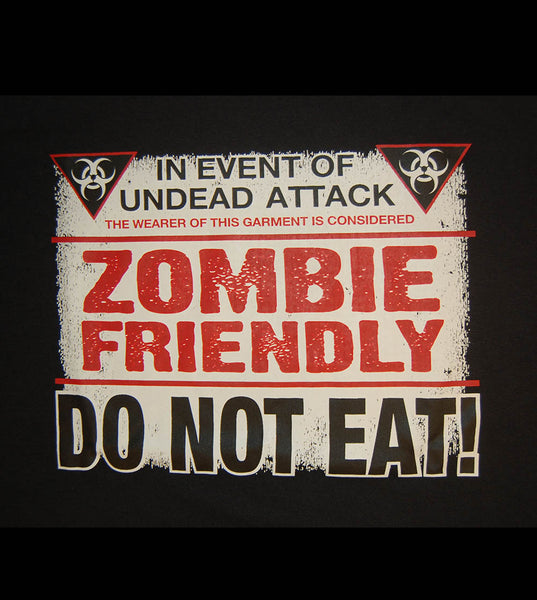 Zombie Friendly (women) - gunnytees