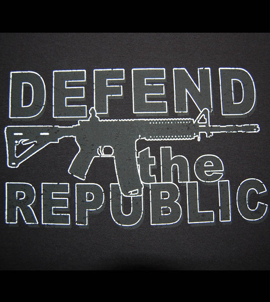 Defend The Republic  (men) - gunnytees