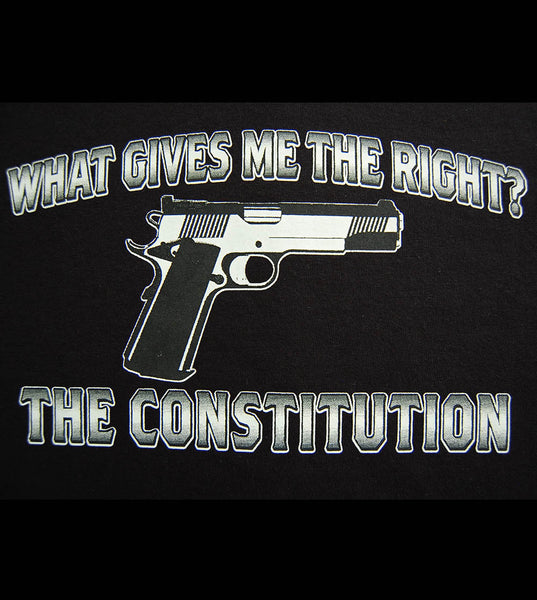What Gives Me The Right (men) - gunnytees