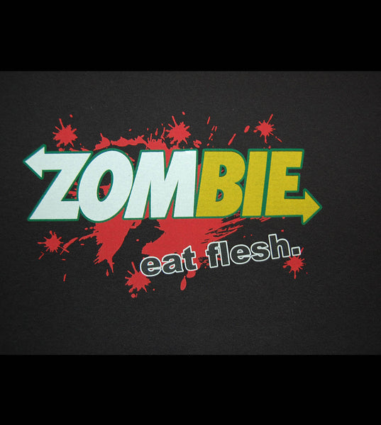 Zombie - Eat Flesh (women) - gunnytees