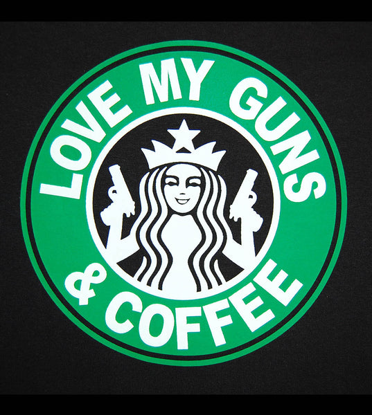 Love My Guns & Coffee (women) - gunnytees