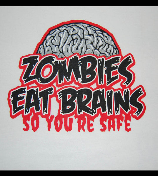 Zombie - Eat Brains (women) - gunnytees