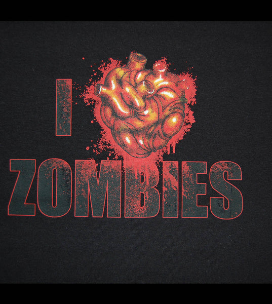 Zombie - I Love Z (women) - gunnytees