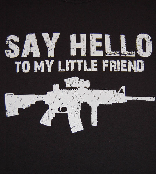 Say Hello V2 (men) - gunnytees