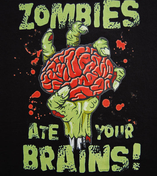 Zombie - Eat Your Brains (women) - gunnytees