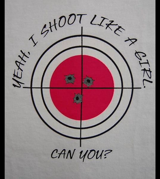 Shoot Like Girl V3 (women) - gunnytees