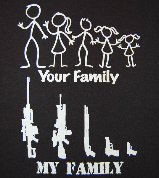 My Family  (men) - gunnytees