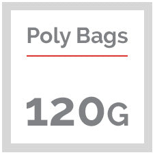 120G Clear Poly Bags