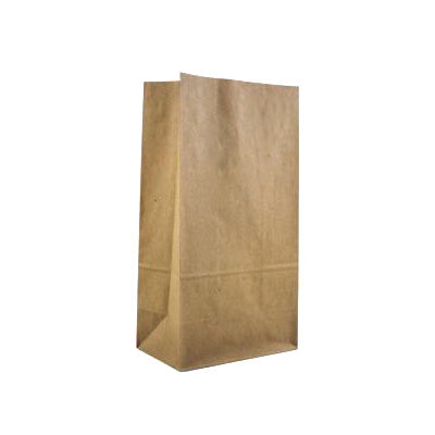 Brown Kraft SOS Block Bottom Paper Bags - Robins Packaging