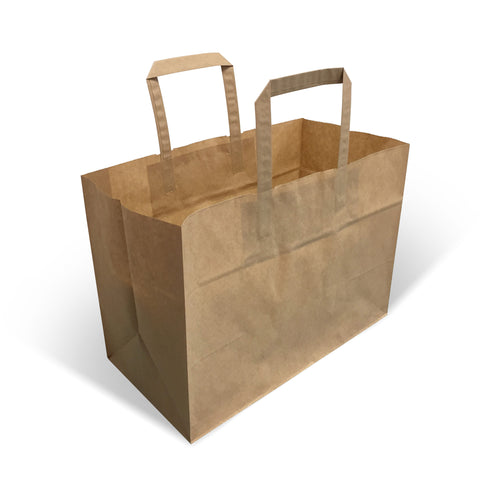 Brown Kraft Wet Strength Garden Centre Paper Bags - Robins Packaging