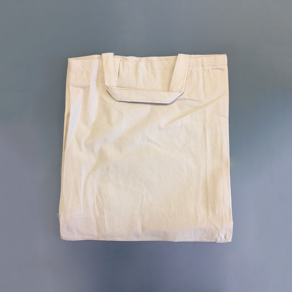 Thick Natural Cotton Canvas Bags 38x43cm Short Handles *Special Offer*