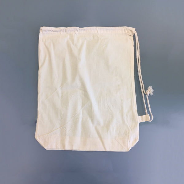 Natural Cotton Duffle Bags 40x49cm *Special Offer*