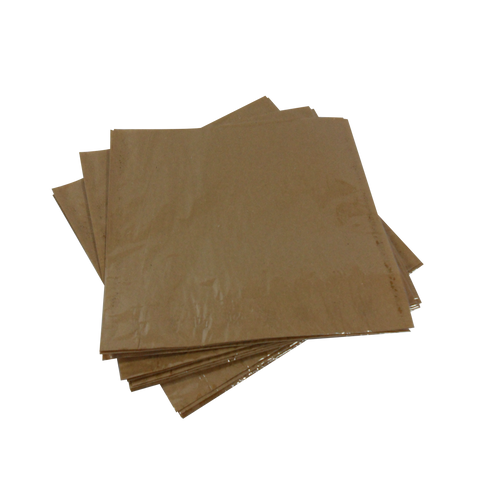 Brown Clearface Bags Film Fronted