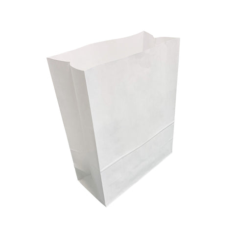 White Block Bottom Bags *Special Offer*