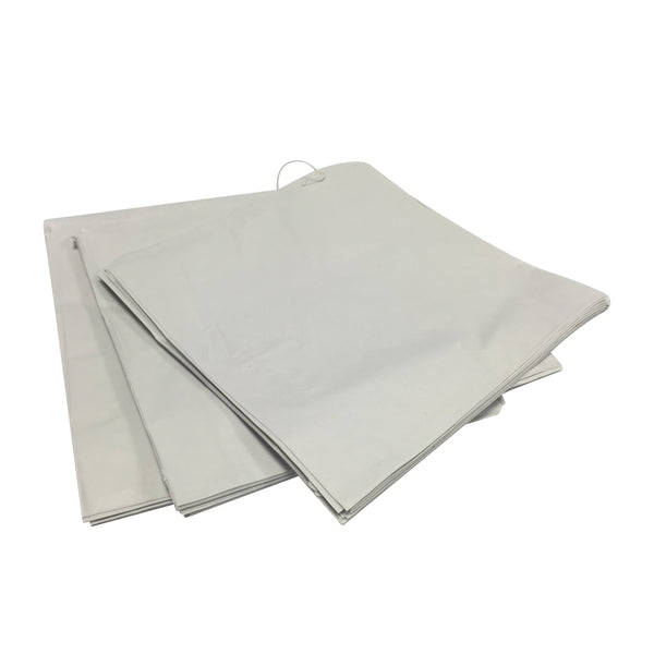 White Sulphite Counter Bags