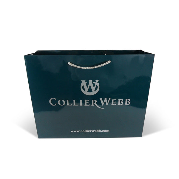 Printed Rope Handle Paper Carrier Bags