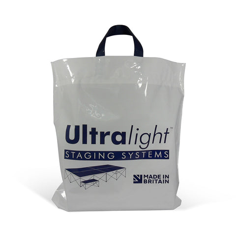 Printed Flexiloop Handle Plastic Bags - Robins Packaging
