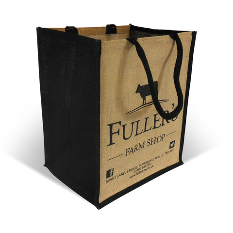 Printed Jute Bags - Robins Packaging