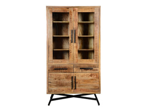 Retro glass cabinet - Kif-Kif Import