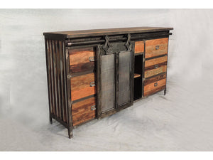 Buffet Industriel Detroit - Kif-Kif Import