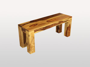 Avadi bench in rosewood