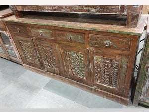 Antique sideboard 4 doors 4 drawers - Kif-Kif Import