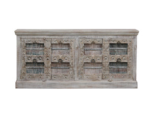Antique Indian sideboard 4 doors - Kif-Kif Import