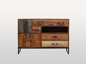Soho sideboard 3 doors 4 drawers - Kif-Kif Import