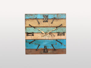 Carla square wall clock